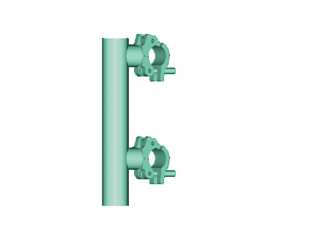 Clamp Shoring Jack : Alutruss screw jack clamp f pa