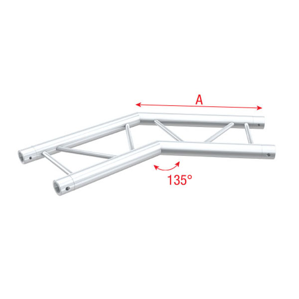 Showtec Corner 135 Deg Horizontal Pro 30 Step G Truss