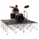 Intellistage Portable Staging ISDRUM430C 4SQ Meter 30CM High Drum Riser Platform