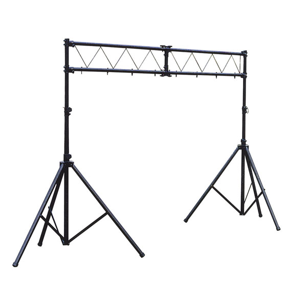 Showtec Two Stand DJ Lighting Bar Archway With Truss 3 M